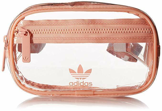 adidas Originals National Waist Pack Dust Pink/Clear Fanny P