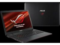Asus G551JW ROG gamer notebook