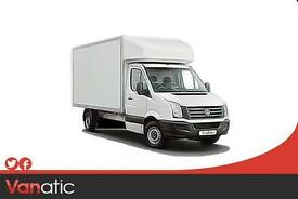 2017 New VW Crafter CR35 LWB Single Cab ETG Luton 140ps in Candy White