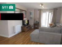 Brand new two bedroom semi furnished flat for rent