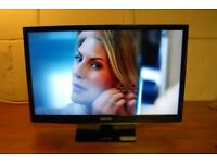 "26"" SAMSUNG FULL HD FREEVIEW LED TV WITH REMOTE CONTROL"