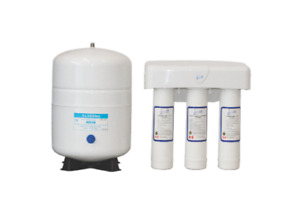 3 Stage Reverse Osomosis system with 5 Gallon Capacity tank
