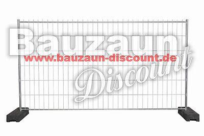 Bauzaun Mobilzaun Bauzäune Mobilzäune Bauzaunfelder leicht und günstig