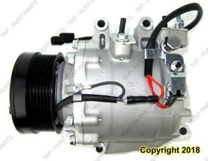 AC Compressor Exc Si And Hybrid Honda Civic 2006-2011