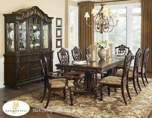 Solid wood Dining Set with 6 Chairs (MA502)