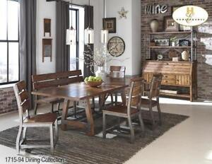Dining set with Bench - Mississauga Sale (BD-2321)
