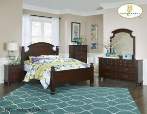 Traditional King Solid wood Bedroom (MA316)