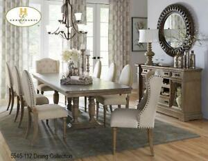 Double extension 7 PC Dining Set (MA524)