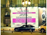 CAR DEALERS WANTED-Free Cars - 80-120 Cars and vans a day - CALL 0207 097 0197   RHINO CAR SCRAP