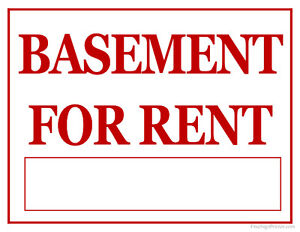 Basement for Rent in Amber Trail