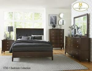Cherry Finish 8 PC Queen Bedroom | Online Special Sale (MA229)