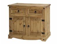 New Solid Corona 2 drawer 2 door sideboard £99 Get yours today