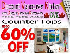 Kitchen and bathroom countertop on sale
