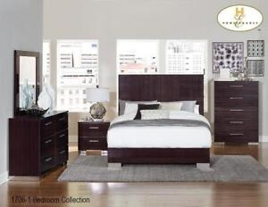 Contemporary 8 PC King Bedroom - Online Special Sale (MA225)