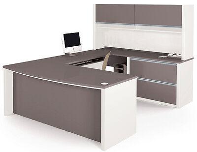 Connexion Executive L Shaped Desk Set 4 - Bestar