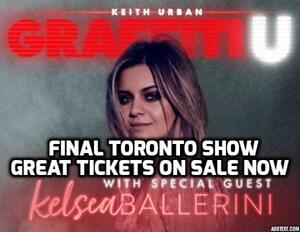 FINAL SHOW NIGHT★★Keith Urban & Kelsea Ballerini ★★ SAT Jun 30