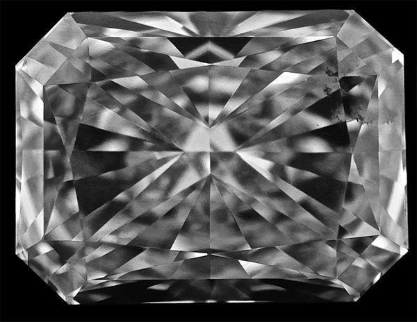 2.01 carat RADIANT cut DIAMOND GIA certificate G color VS1 clarity no fl. loose