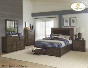 8 PC Queen Storage Bedroom Set on Sale in Toronto (BD-2323)