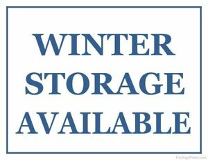 Winter Motorcycle Storage available, heated, private and alarmed