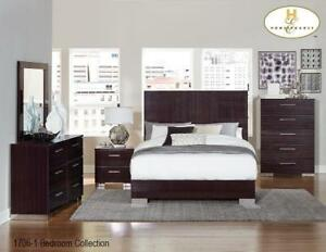 Modern Queen Bedroom Set Sale - 8 PC Set (BD-2318)