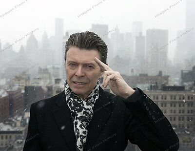 8x10 Print David Bowie Beautiful Beautiful New York City Skyline #DB23