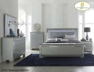 Accent Silver 8 PC Queen Bedroom | Online Special Offer (MA236)