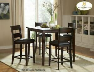 COUNTER HEIGHT DINING TABLE SET (MA2237)