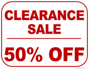 50 % OFF ALL GOODYEAR TIRES 1 DAY ONLY FRI MAY 18