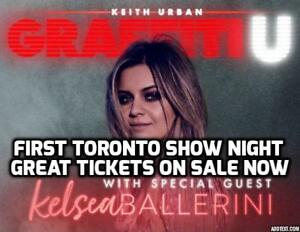★★Keith Urban &Kelsea Ballerini Bud STAGE★★ FRI Jun 29