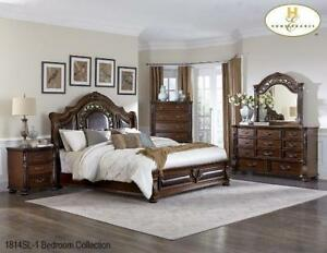 Solid Wood Queen Bedroom Set on Sale (BD-2330)