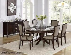 5PC OVAL/ROUND TABLE AND CHAIR SET MODEL 2615 02-15 $1,569.00 SAVE $630