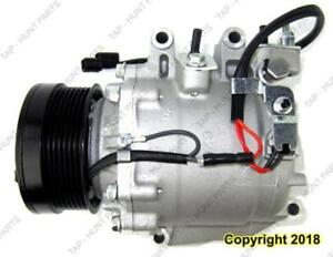 AC Compressor Exclude Si And Hybrid Honda Civic 2006-2011