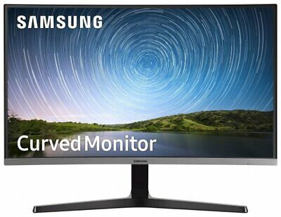 "NEW Samsung Curved 32"" Full HD 1920x1080 Super Slim Gaming LED Monitor FreeSync"