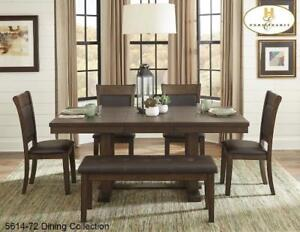 7 PC Dining Set Butterfly Leaf  (MA704)