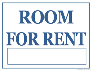 Room for rent...
