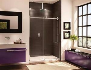 PROMOTION up to 60% on Fleurco shower, available, in corner and sliding shapes