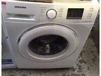New Graded Samsung 8kg Ecobubble Washing Machine - White