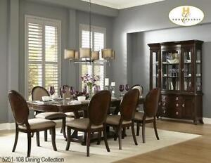 Solid Wood 7 PC Dining Set (MA760)