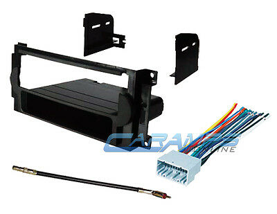 Stereo Install Dash Mount - NEW CAR TRUCK STEREO RADIO INSTALL DASH KIT MOUNT WIRE HARNESS & ANTENNA ADAPTER