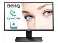 BenQ GW2270HM 21.5 Inch Full HD LED Eye-Care Monitor, Low Blue Light and Flicker-Free - Black