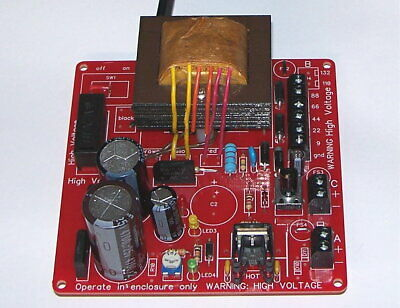 Battery Eliminator Power Supply Kit - For Antique Vintage Vacuum Tube Radios