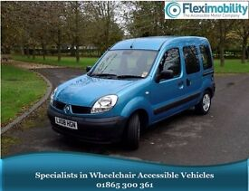 2008 RENAULT KANGOO AUTHENTIQUE Wheelchair-Accessible Vehicle WAV Disabled Car