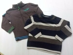 Set of 2 Toddler Boys 4T Sweaters> Both for $4