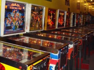 Vinyl Record Collection for Pinball Machine