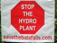 Save The Bala Falls in Muskoka