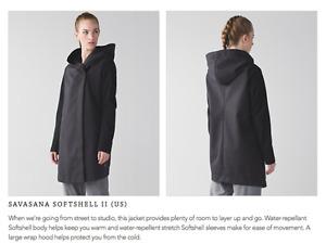 Lululemon Savasana Softshell Jacket Size Large