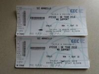 2 tickets for YES #50 in Glasgow 16th March. Offers please.