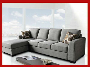 PROMOTIONAL GREY SECTIONAL ON SALE, $1199.99 @ YVONNE'S FURN
