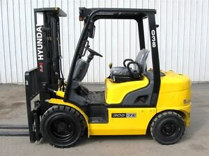 6000lb Certified Used Forklift