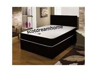 Brand new memory foam double bed with mattress and free headboard
